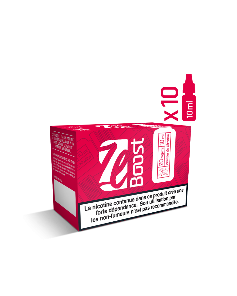 Pack 10 BOOSTER 20MG/Ml